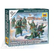 Zvezda German Infantry (Winter Uniform) - makett