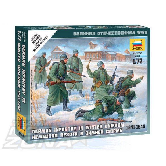 Zvezda German Infantry (Winter Uniform) - makett