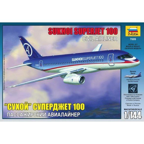 Zvezda Sukhoi Superjet 100 - makett