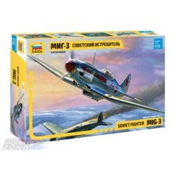 Zvezda MiG-3 Soviet Fighter - makett