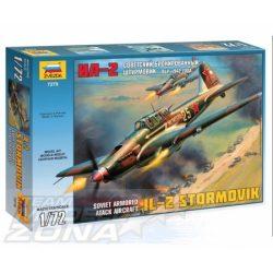 """Zvezda - 1:72 Ilyushin IL-2 """"Stormovik"""" mod. 1942 - makett"""