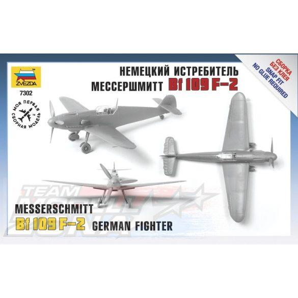 Zvezda Messerschmitt B-109 F2 - makett