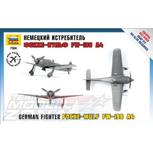 Zvezda Focke Wulf 190 A4 - makett