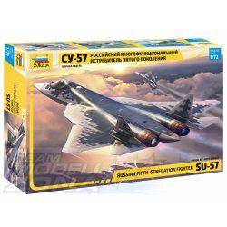 Zvezda - 1:72 Su-57 ötödik generáció - makett