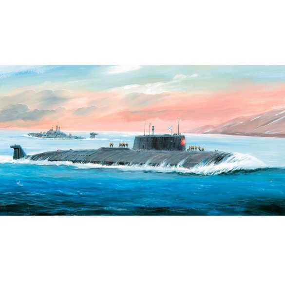 Zvezda Kursk Nuclear Submarine - makett