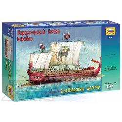 Zvezda - 1:72 Carthaginian Warship III - I B.C. - makett