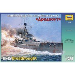 Zvezda British battleship HMS Dreadnought- makett
