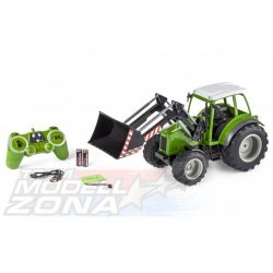 Carson - 1:16 RC Tractor w. font loader 2.4G 100%
