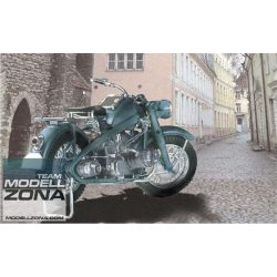 Asuka - 1:24 Dt. Zündapp Motorrad KS750 - makett (§)