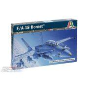 Italeri F/A 18 Hornet Wild Weasel C/D - makett