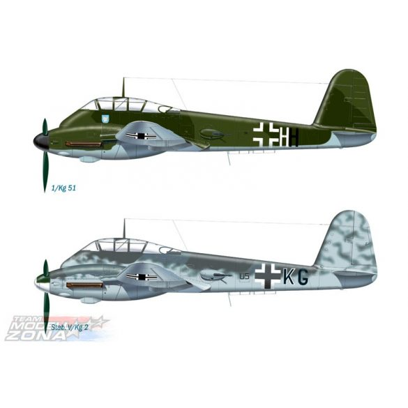 Italeri ME 410 HORNISSE - makett