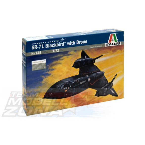 Italeri SR-71 BLACK BIRD - makett