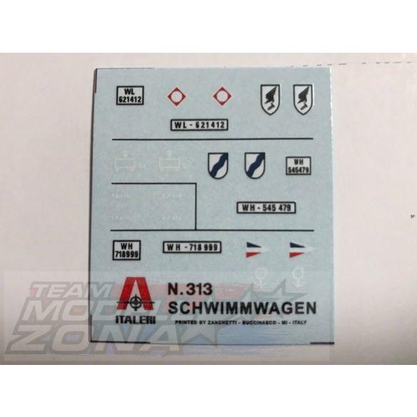Italeri Schwimmwagen - makett
