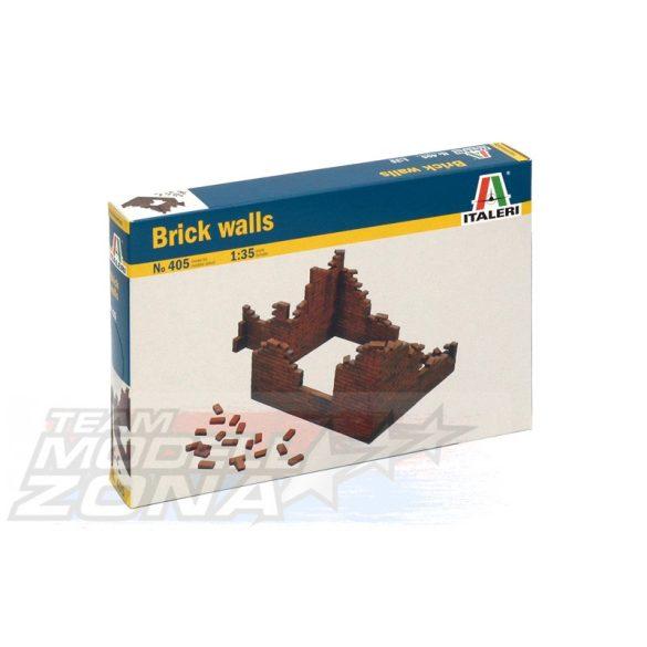 Italeri BRICK WALLS - makett