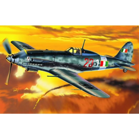 Italeri MC. 205 Veltro - makett