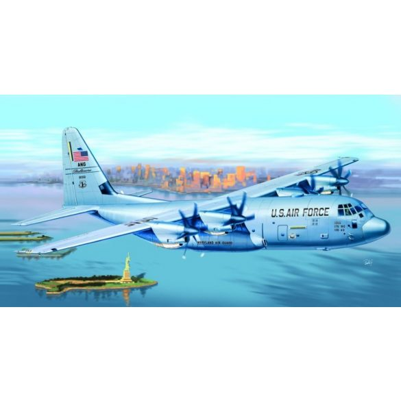 Italeri C-130 J Hercules Premium Edition - makett