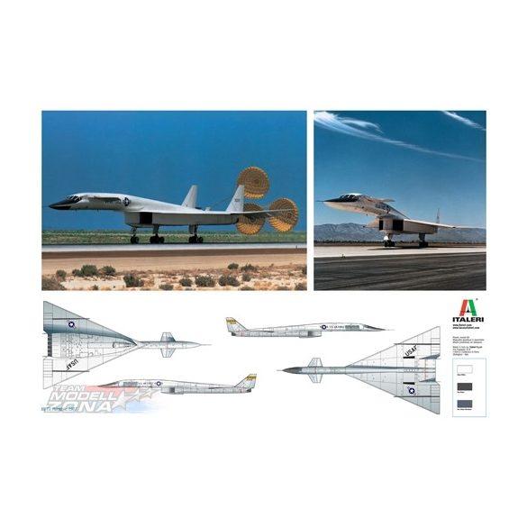 Italeri XB-70 VALKIRYE - makett