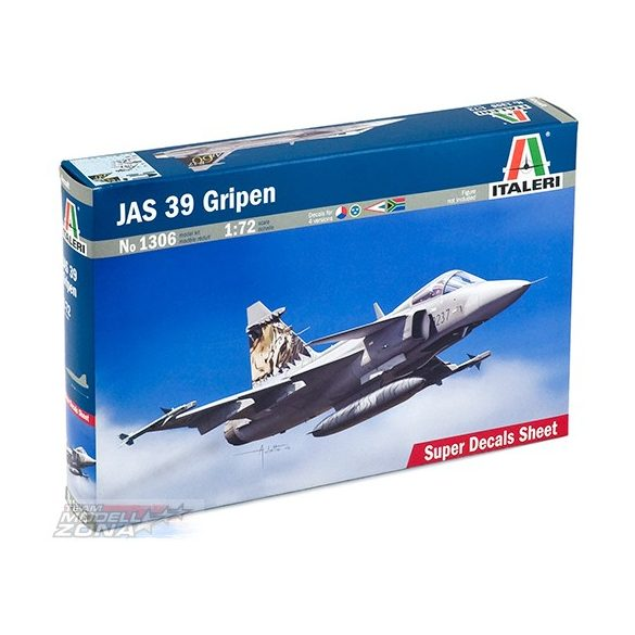 Italeri JAS 39 GRIPEN - makett (*)
