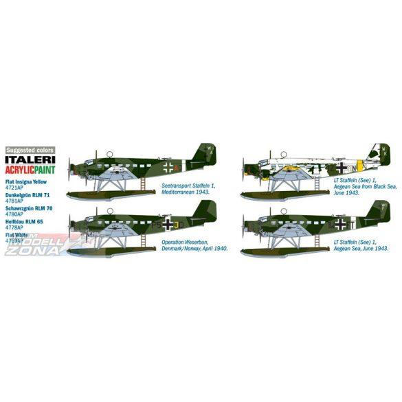 Italeri JU 52/3 m Floatplane - makett