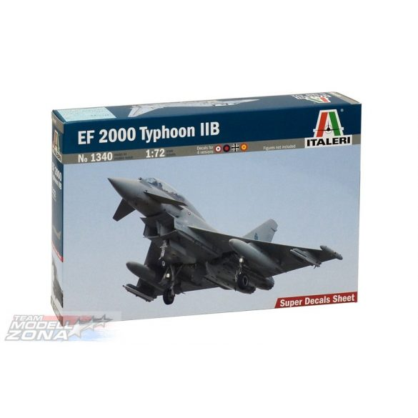 Italeri EF 2000 Typhoon IIB - makett
