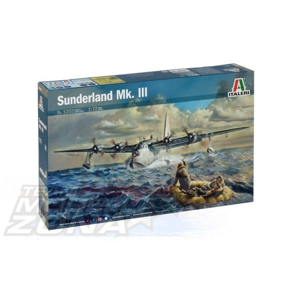 Italeri SUNDERLAND Mk.III - makett
