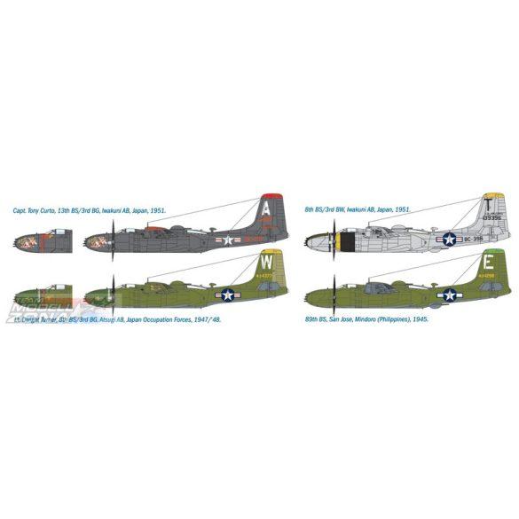 Italeri A-26B Invader - makett