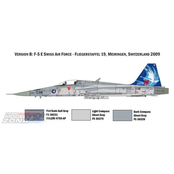 Italeri - 1:72 F-5E SWISS AIR FORCE - makett