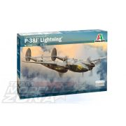 Italeri - 1:72 US P-38J Lightning - makett
