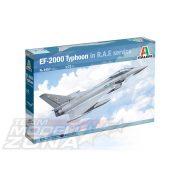 Italeri - 1:72 EF-2000 Typhoon In R.A.F. Service - makett
