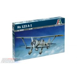 Italeri Hs-123 A-1 - makett