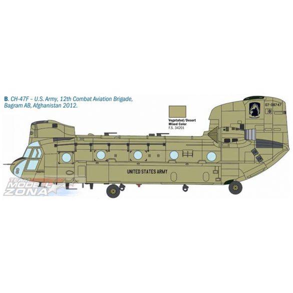 Italeri - 1:48 Chinook HC.1 / CH-47D - makett