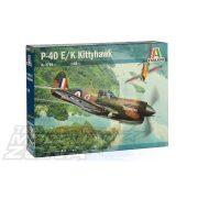 Italeri - 1:48 P-40E/K Kittyhawk - makett