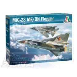 Italeri - 1:48 MiG-23 MF/BN FLOGGER - makett