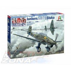 italeri - 1:48 Junkers JU-87B Stuka Bat.o.Brit. - makett