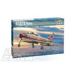 Italeri - 1:48 North American FJ-2/3 Fury - makett