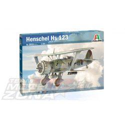 Italeri - 1:48 HENSCHEL HS 123 - makett