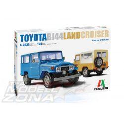 Italeri - 1:24 Toyota BJ44 Land Cruiser - makett