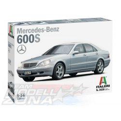 italeri - 1:24 Mercedes Benz 600S - makett