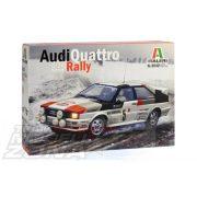 Italeri - 1:24 Audi Quattro Rally - makett