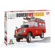 Italeri - 1:24 LAND ROVER FIRE TRUCK - makett