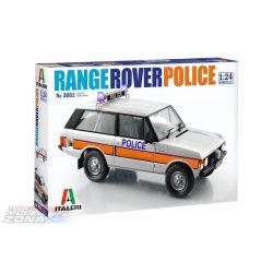 Italeri - 1:24 RANGE ROVER POLICE - makett