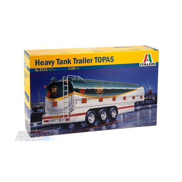 Italeri Heavy Tank Trailers TOPAS- makett