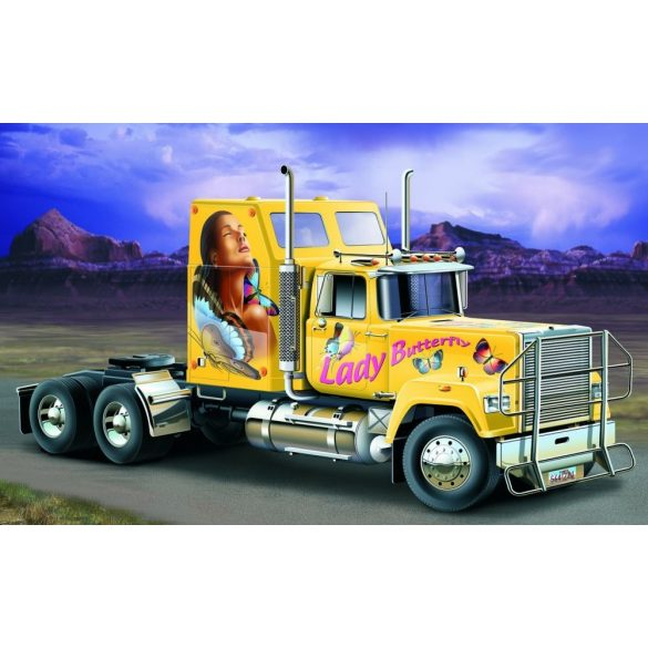 Italeri US Superliner Power Truck- makett