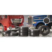 Italeri Truck Rubber Tyres- makett