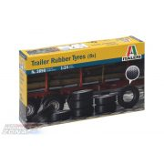 Italeri Trailer Rubber Tyres- makett