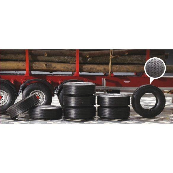 Italeri Trailer Rubber Tyres- makett
