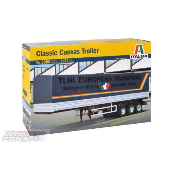 Italeri CLASSIC CANVAS TRAILER- makett