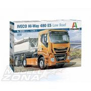 italeri - 1:24 IVECO Hi-Way 480 E5 (Low Roof) - makett