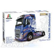Italeri - 1:24 VOLVO FH4 Globetrotter Medium Roof - Kamion Makett
