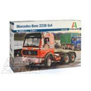Italeri - Mercedes-Benz 2238 6x4 - kamion makett